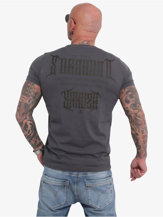 Yakuza T-Shirty Surround szary