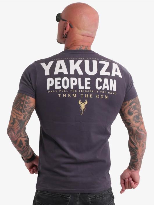 Yakuza T-Shirty People szary