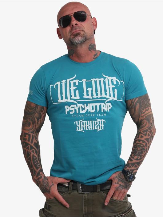 Yakuza T-Shirty We Love turkusowy