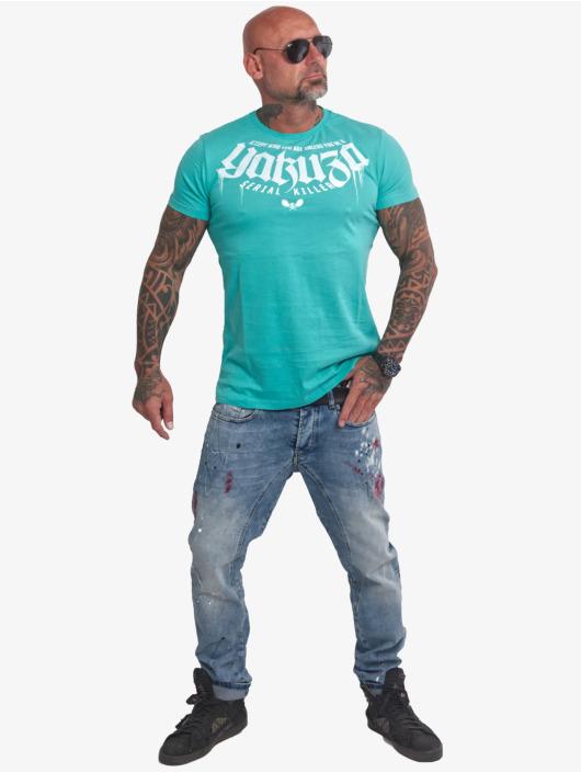 Yakuza T-Shirty Killer turkusowy