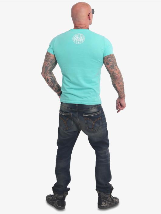 Yakuza T-Shirty Inner Circle turkusowy