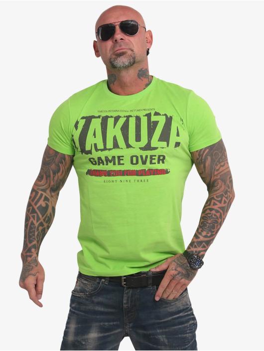 Yakuza T-Shirty Hating Clown zielony