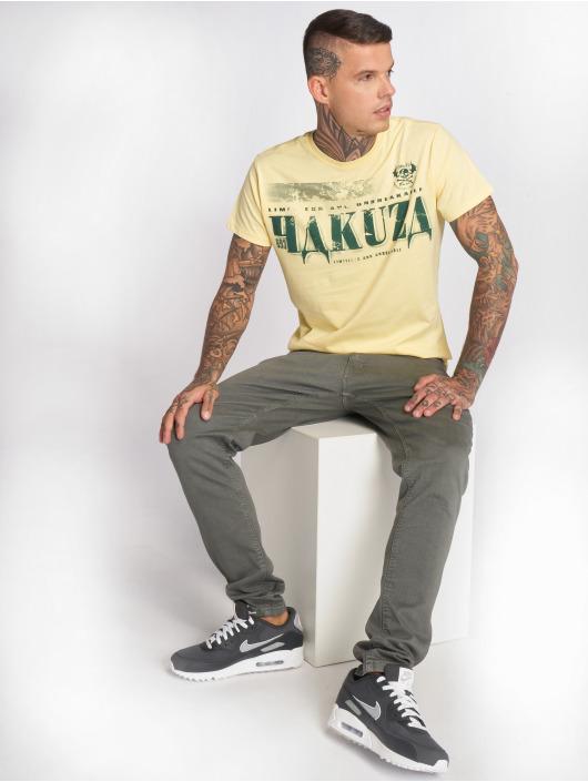 Yakuza T-Shirty OK! zólty