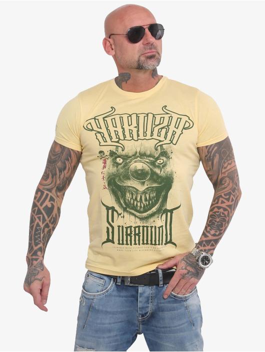 Yakuza T-Shirty Surround zólty