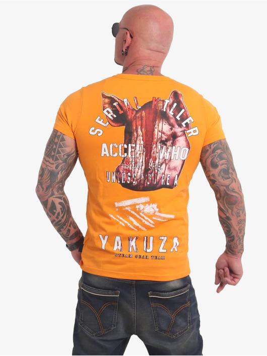 Yakuza T-Shirty Swine zólty