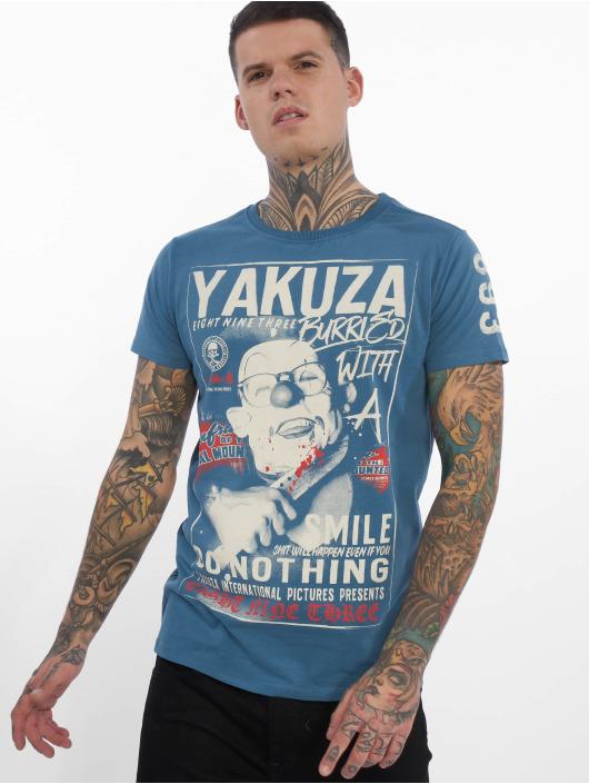 Yakuza T-skjorter Burried blå