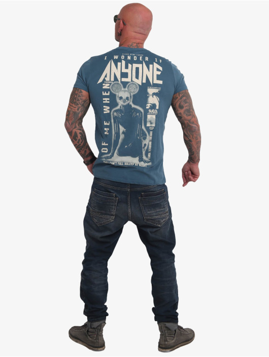 Yakuza T-skjorter Anyone blå