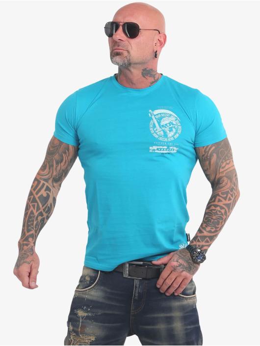 Yakuza T-skjorter Neither The Sun blå