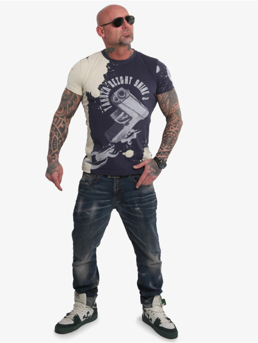 Yakuza T-skjorter Raid blå