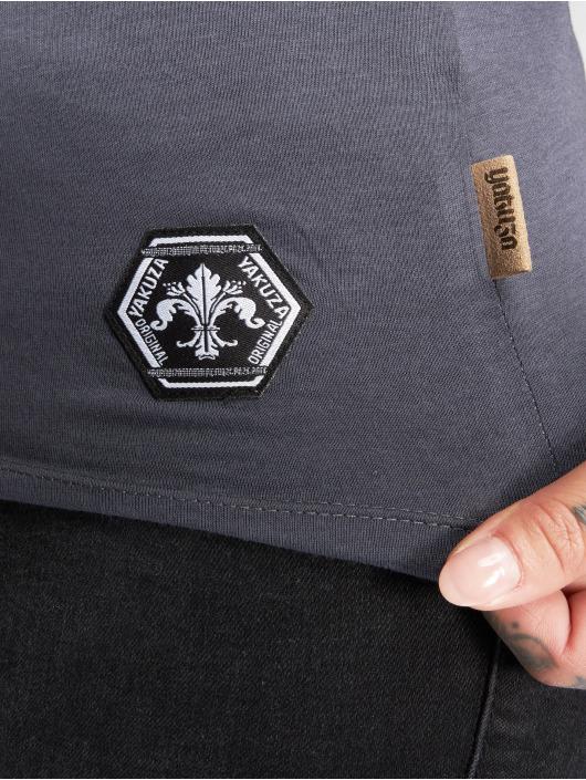 Yakuza T-skjorter Por Que No grå
