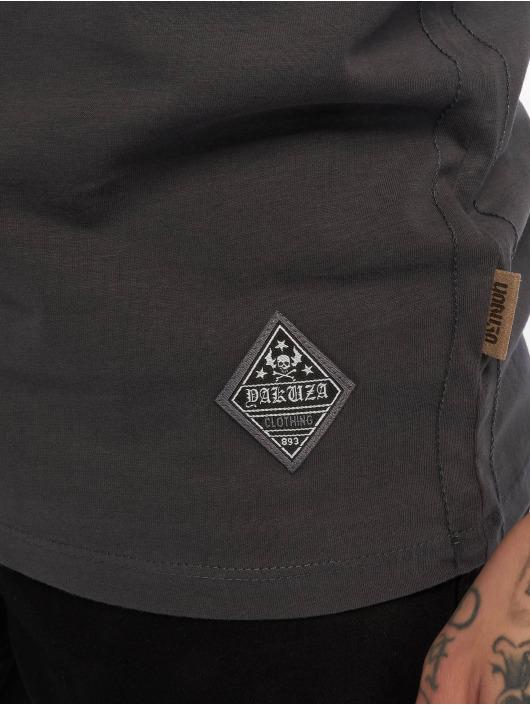 Yakuza T-skjorter Aggressive Two Face grå
