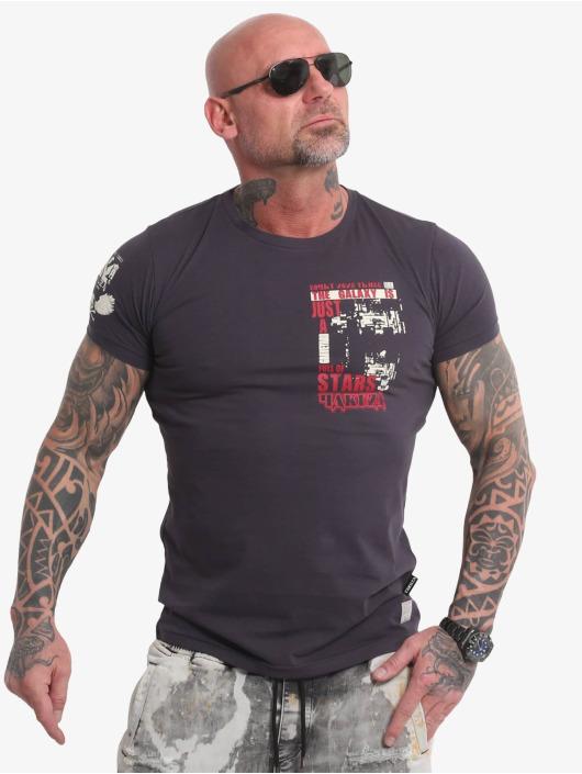 Yakuza T-skjorter Galaxy grå