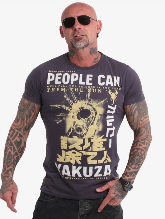 Yakuza T-skjorter People grå