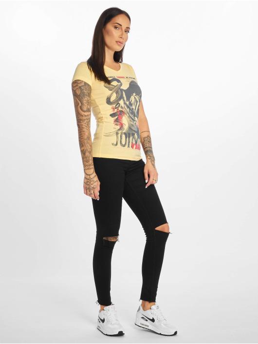 Yakuza T-skjorter Join Us gul