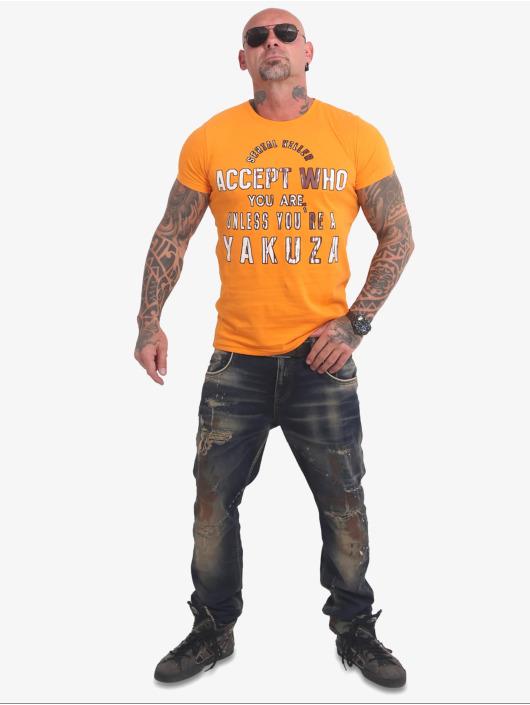 Yakuza T-skjorter Swine gul