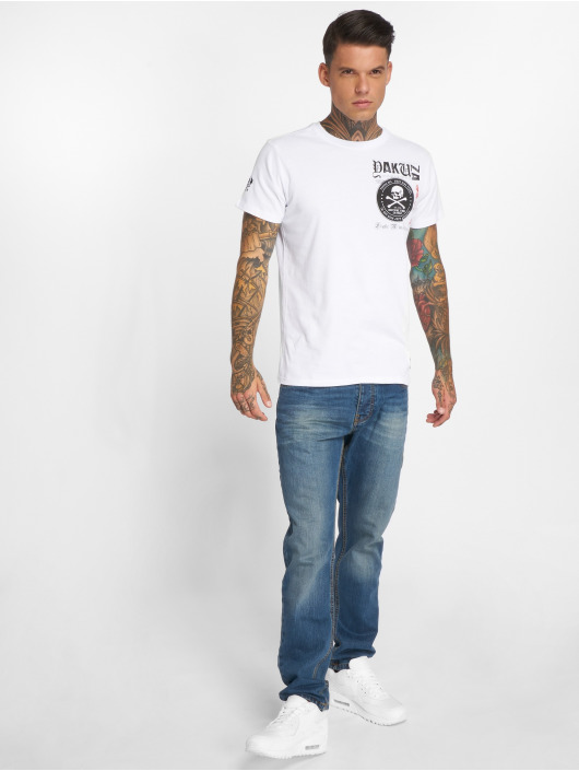 Yakuza T-skjorter Columbian Original hvit