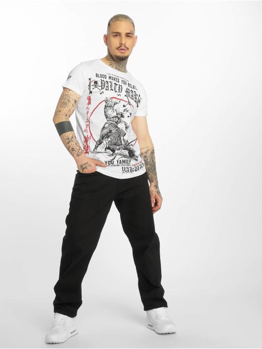 Yakuza T-skjorter Loyality hvit