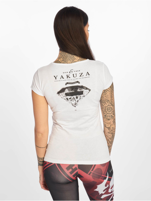 Yakuza T-skjorter Fts hvit