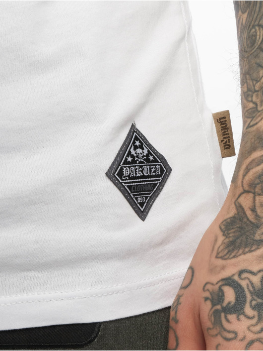 Yakuza T-skjorter Enemy hvit