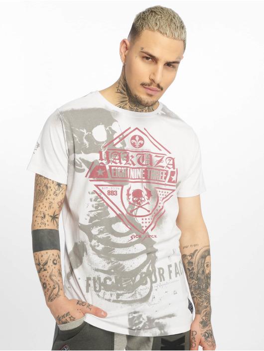 Yakuza T-skjorter Xray hvit
