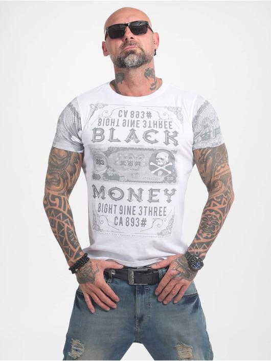 Yakuza T-skjorter Black Money hvit