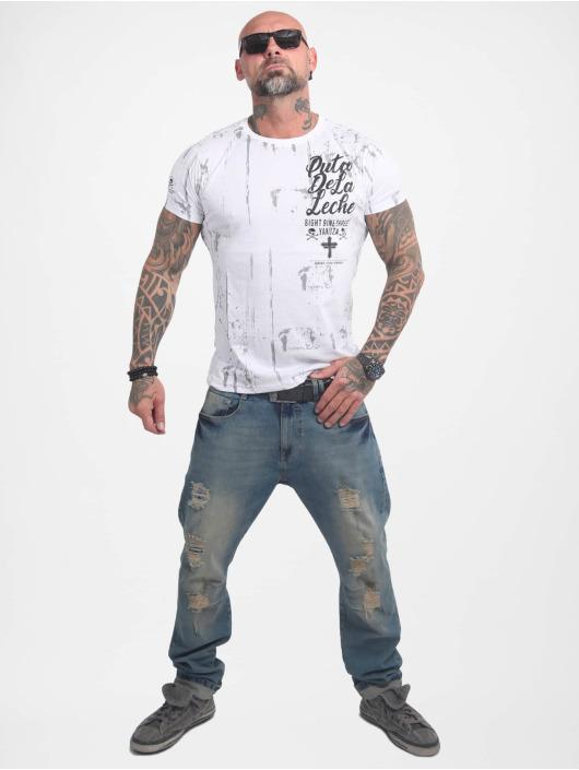 Yakuza T-skjorter Puta De La Leche hvit