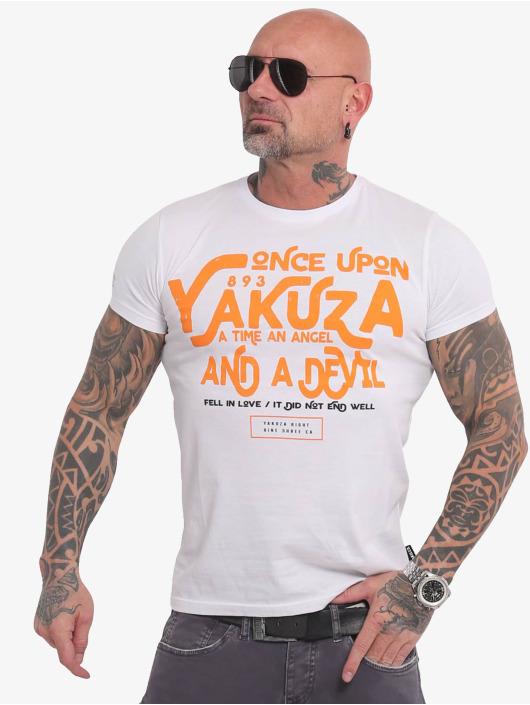 Yakuza T-skjorter Once Upon hvit