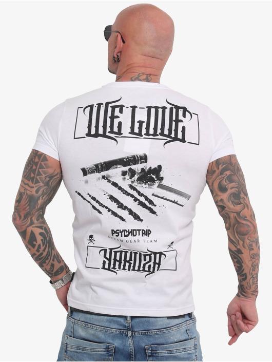 Yakuza T-skjorter We Love hvit