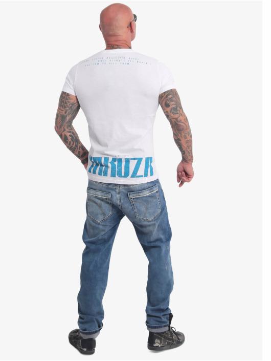 Yakuza T-skjorter Crucified hvit