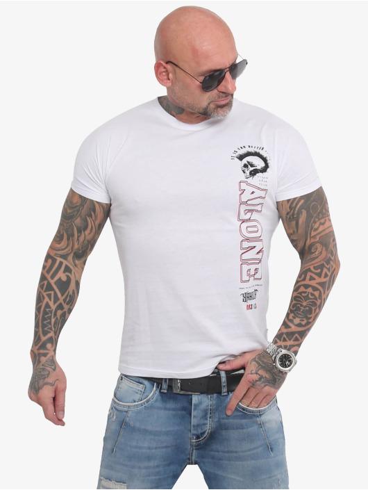 Yakuza T-skjorter Bad Company hvit