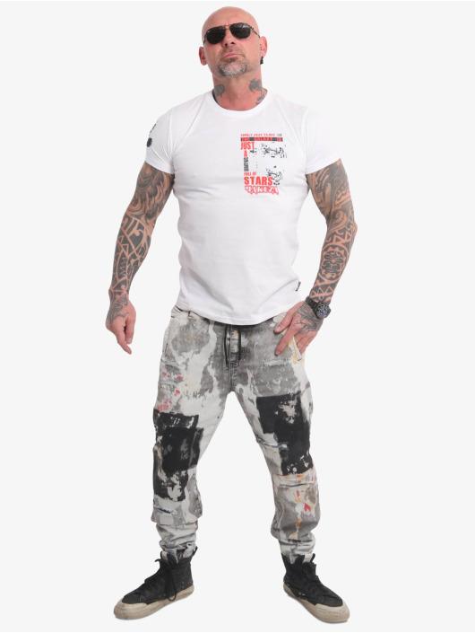 Yakuza T-skjorter Galaxy hvit