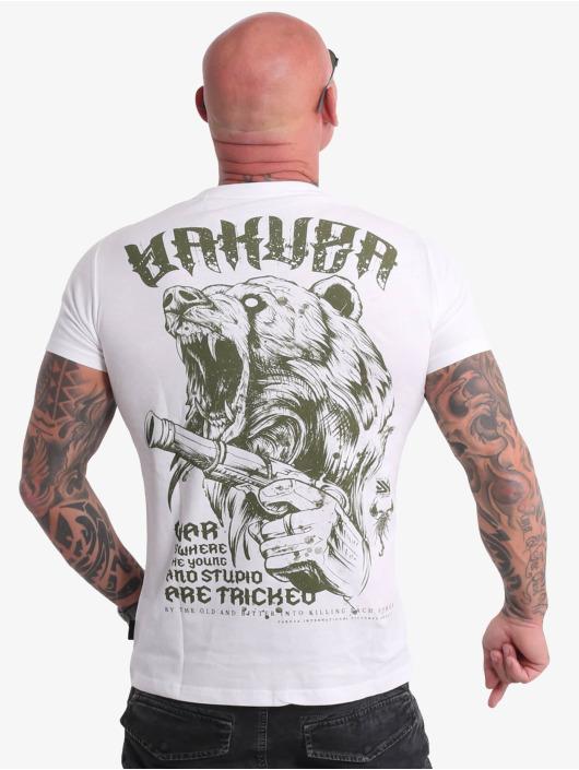 Yakuza T-skjorter Beast V02 hvit
