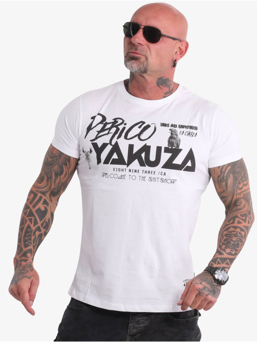 Yakuza T-skjorter Perico hvit