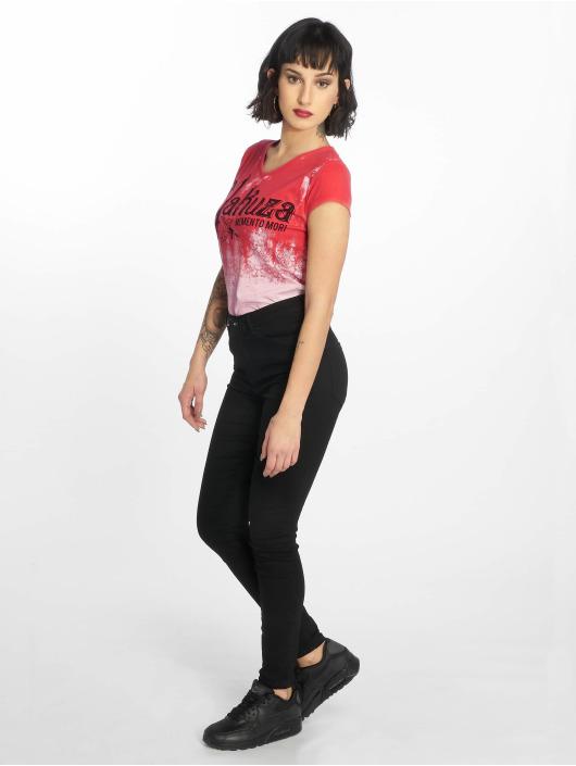 Yakuza T-skjorter Gradient lyserosa