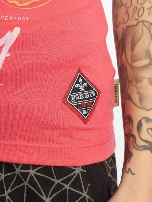 Yakuza T-skjorter Your Hate lyserosa