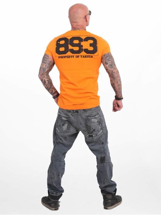 Yakuza T-skjorter Property oransje