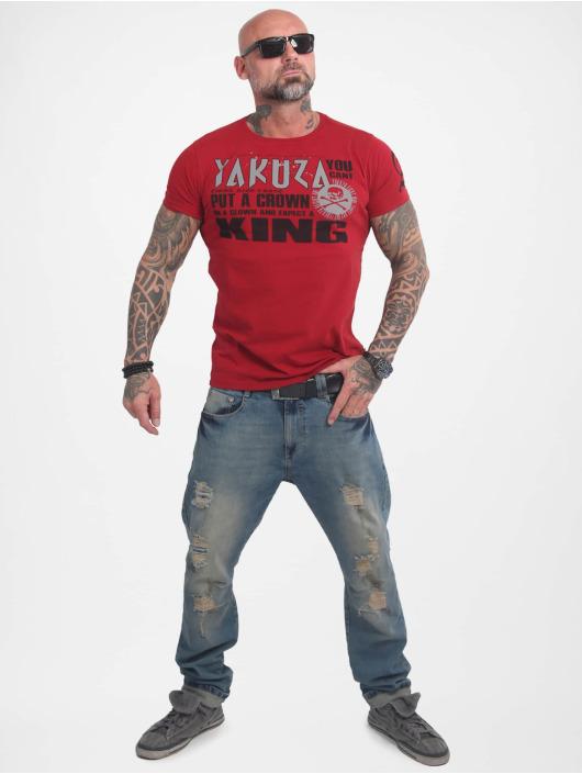 Yakuza T-skjorter Dead Punk red