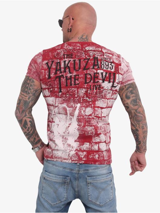 Yakuza T-skjorter The Devil red
