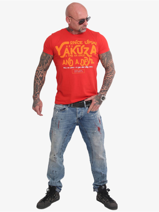 Yakuza T-skjorter Once Upon red