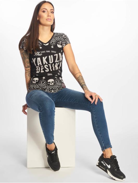Yakuza T-skjorter Tijuana svart