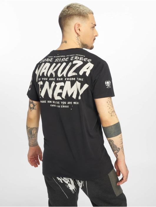 Yakuza T-skjorter Enemy svart