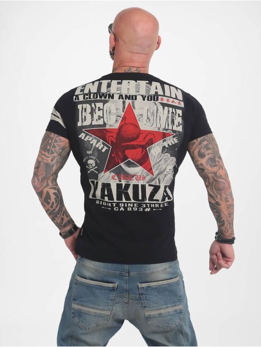 Yakuza T-skjorter Entertain svart