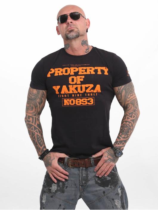 Yakuza T-skjorter Property svart