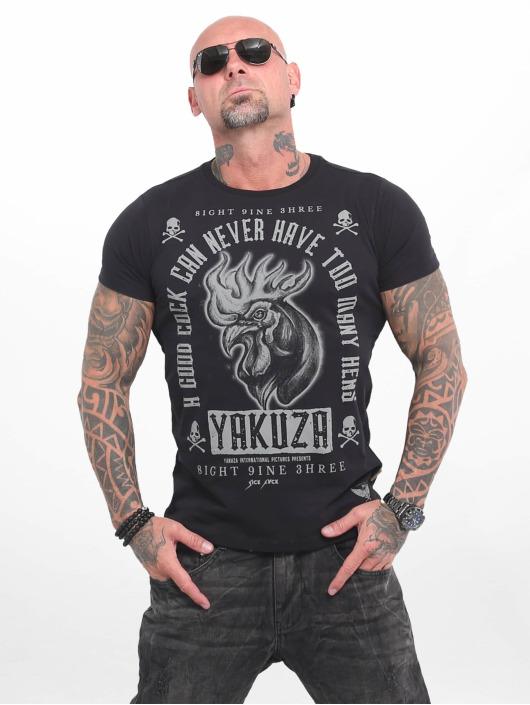 Yakuza T-skjorter Good Cock svart