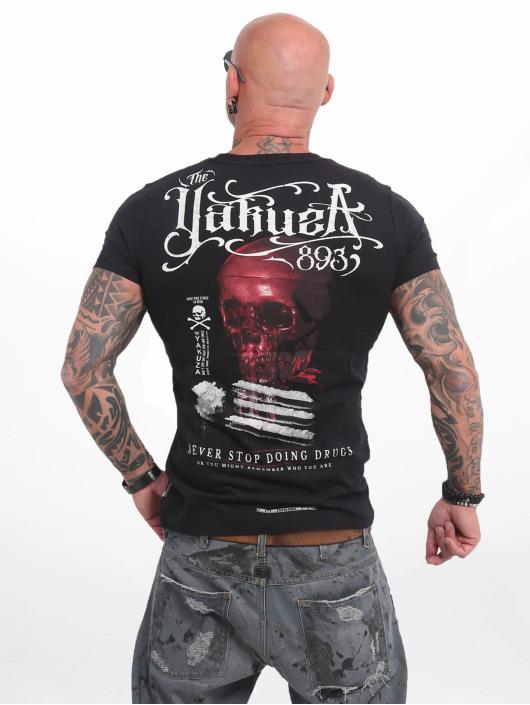 Yakuza T-skjorter Never Stop svart