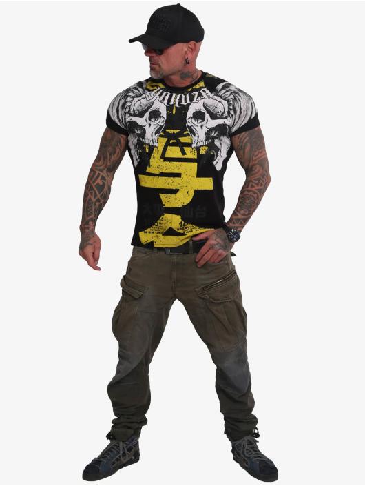 Yakuza T-skjorter Sick Nippon svart