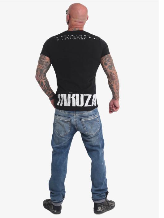 Yakuza T-skjorter Crucified svart