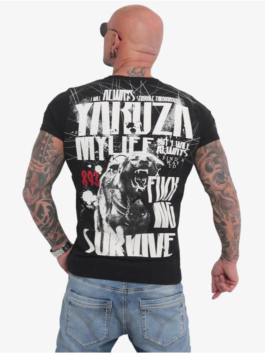 Yakuza T-skjorter My Life svart