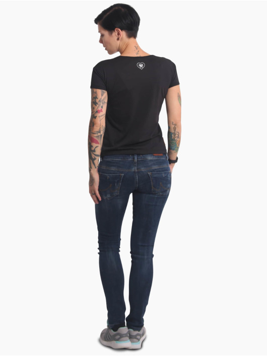 Yakuza T-skjorter No Way Out Box Fit svart