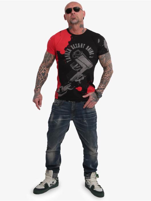 Yakuza T-skjorter Raid svart